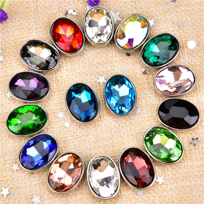 New product 13x18mm Oval Shape <strong>Crystal</strong> with not hook Claw Setting SewOn Rhinestones