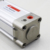 Aluminium Alloy PPV DNC Type Cushioning With Position Sensing Pneumatic Air Cylinder