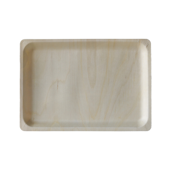 Wooden plates Disposable eco friendly