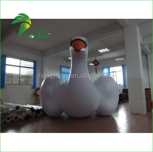 Large Inflatable Water Toys, Inflatable Swan Float For Swimming Pool