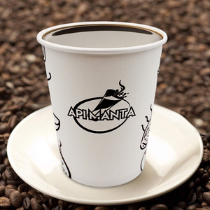 2019 Hot Selling Custom PE Coated Single Wall Coffee Paper Cup 8oz 9oz 10oz 12oz 14oz 16oz 20oz 22oz