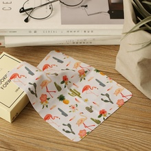 private label wholesale sunglasses cleaning cloth for glasses