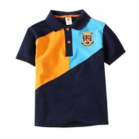 Baby fashion Polo T shirt kids tops child wear make up wholesale clothes boys polo shirts