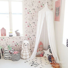 Baby Kids Bed Canopy Bedcover Mosquito Net Curtain Bedding Dome <strong>Tent</strong> Cotton