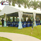 Modular frame outdoor temporary banquet event tent clear span tent restaurant