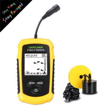 Lucky portable fishfinder transducer hot sale FF1108-1 fish finder sonar for outdoor sport