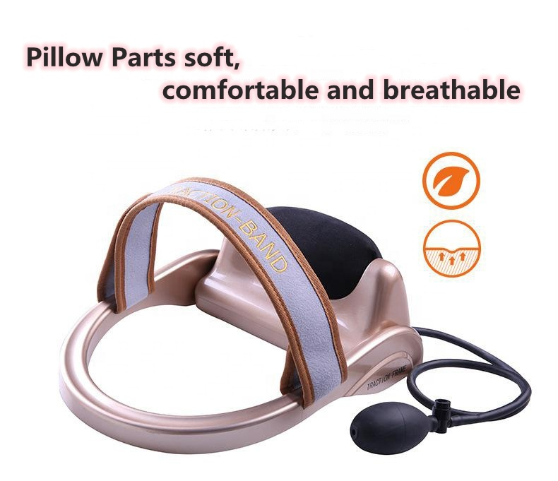 Cervical Traction band for Headache Head Back Shoulder Pain Therapy