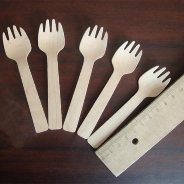 Eco Friendly Birch Wood And Moso Bamboo Disposable Wood Cutlery