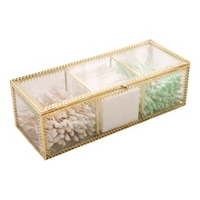 Makeup Organizer Jewelry And Cosmetics Storage Glass Storage Box
