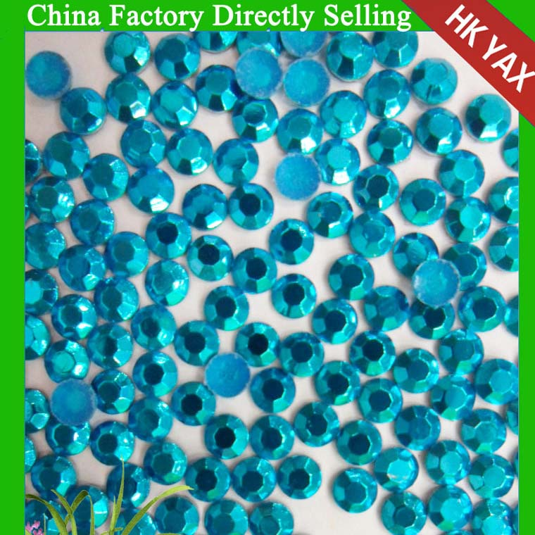 0611N China manufacture hot fix octagon; factory wholesale rhinestuds; crystal transfer rhinestud