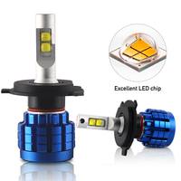 Super bright H4 H13 LED lights bulbs kit 12volt 9006 h1 h11 9005 100w 20000lm Auto Car h7 Led Headlight Bulb