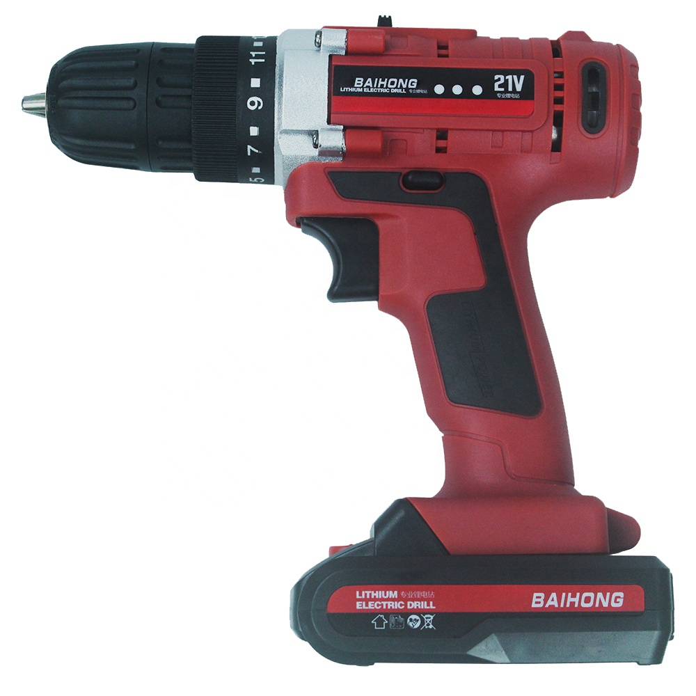 Portable 21V 550w power tools electric screwdriver rechargeable hand cordless <strong>drill</strong> with high quality
