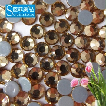 S0807  china cheap smoke topaz rhinestone dress factory wholesale shop SS10 SS20 SS30