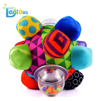 Baby Toys Bumpy Ball Easy to Grasp Bumps Help Develop Motor Skills For baby toy ball Teething Baby Toys
