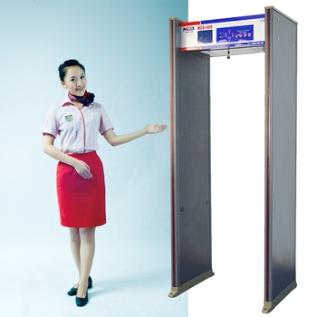 Bestselling Metal Detector Full Body Airport Scanner Gate 6 Zones