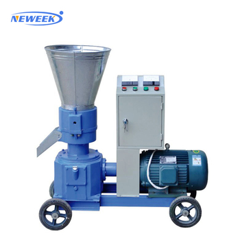 NEWEEK made in china factory sale peanut shell wheat straw particle pellet mill