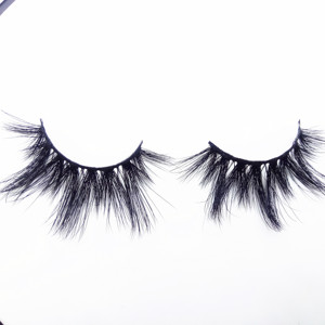 China whosale dramatic effect 25mm mink eyelashes and private label 3d mink eyelashes