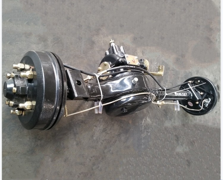 Chinese brand spare parts for gasoline tricycle oil brake <strong>rear</strong> <strong>axle</strong> assembly for tricycle