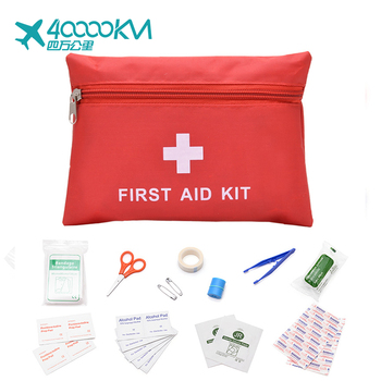 wholesale portable car travel military camping survival emergency supplies mini cute first aid kit box bag case