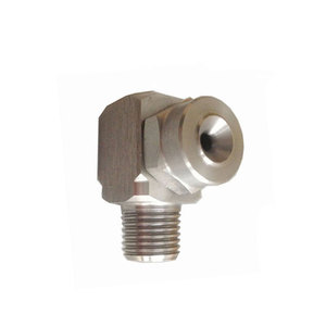 Side spray corner type tangential Whirl solid full cone nozzle