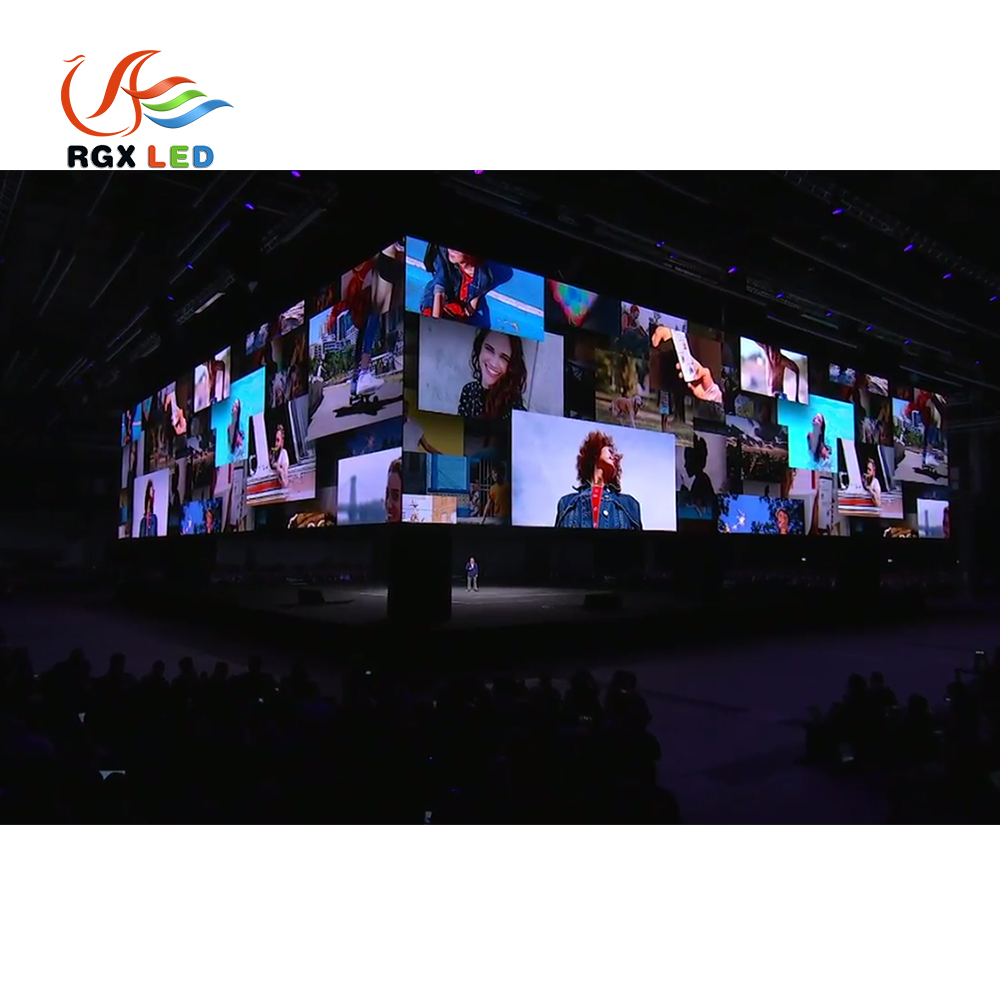 RGX High Contrast Led Display <strong>P10</strong> <strong>Outdoor</strong> For Waterproof Cabinet Concert Stage Live Broadcast Led Display
