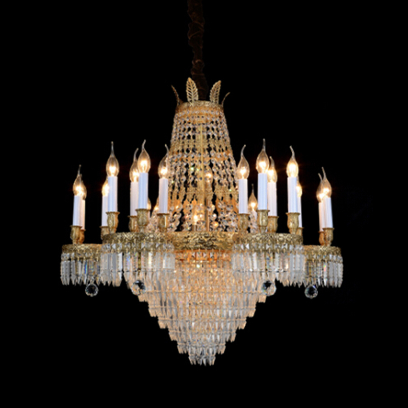 art decorative designer crystal brass chandelier crystal lighting vintage