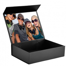 KAII Wholesale Black Cardboard Magnetic Gift Boxes