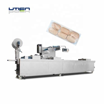 Auto bread vacuum packing  machine with various package shapes