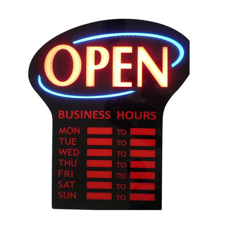 Led Open Business hour Program <strong>sign</strong> ,Business Time display led Open <strong>Sign</strong>