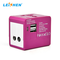 Hot sale products phone accessary world travel adaptor for Singapore Germany France and so on