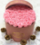 Custom made delivery flowers suede round box, velvet round hat boxes for flowers, flower rose boxes