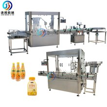 <strong>Fruit</strong> juice filling line Automatic milk bottle filling and bottling machine for 200ml to 1L