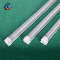 Factory supply high lumen 86-265v/ac 120cm 18/19w 4ft t8 led tube 4ft 2835smd t8 integrated led light