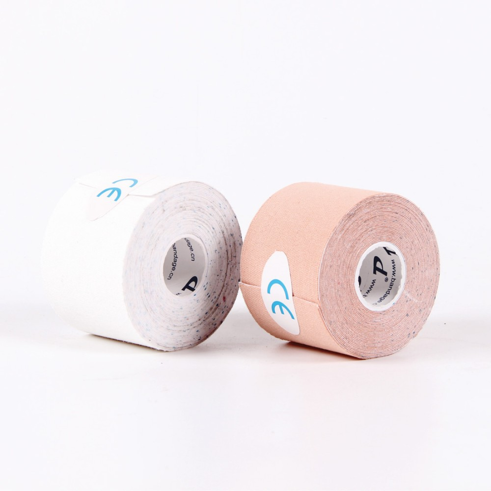 New sport accessories wholesale Printed Kinesiology Tape / Strapping / Braces for sport safety with CE FDA and ISO certificate