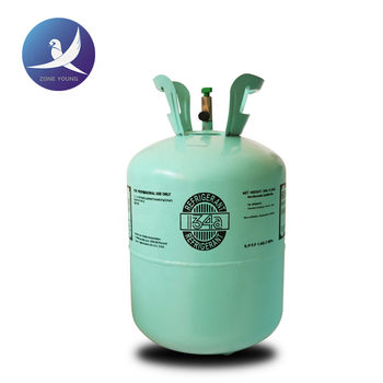 CE certificate CE cylinder packing refrigerant R134a gas
