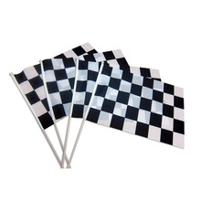 Custom hand held flags small plastic stick flag