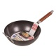 Mini Grill Wood Handle Cast Iron Pan Wholesale For Stir Frying