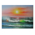 on canvas new hand painted  Egyptian papyrus art painting sea sunset painting