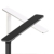 Smart Brightness Adjustable Home LED Desk Lamp with Qi-Enabled Fast Wireless Charging Function for iPhone XS and Samsung S10