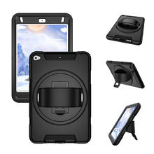 2019 New Tablet 360 Rotation Stand Hand Held Shockproof Rugged PC Tpu Cover <strong>For</strong> <strong>Ipad</strong> Mini 5 <strong>Case</strong>
