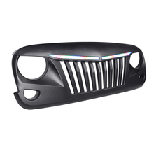RGB Front bumper grill hood lights For jeep wrangler 2007-2017 jk accessories