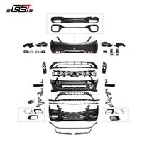 GBT Front and rear bumper and grille body kit for upgrade to amg style for mercedes benz S Class s63 w222