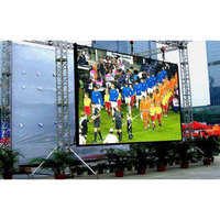 P6 outdoor waterproof led display rental screen 576*576mm led tv