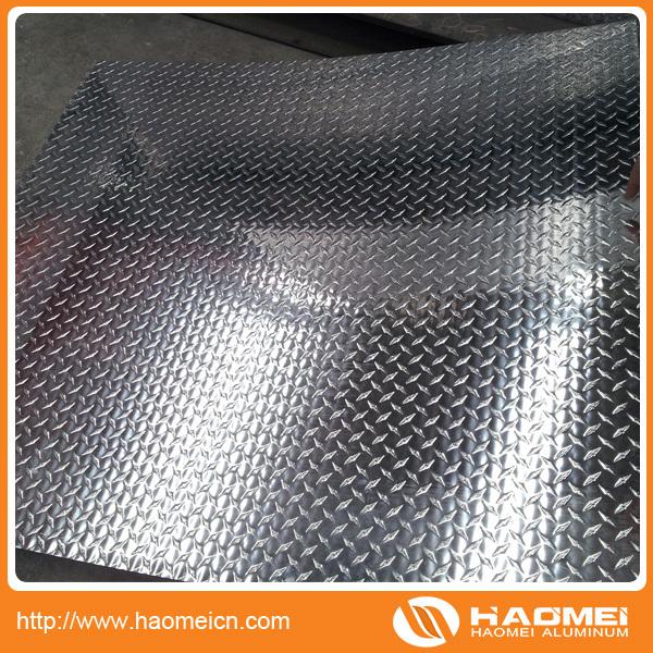 Vender chapa aluminio de antideslizante para el piso con for Chapa antideslizante