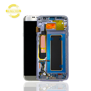100% tested LCD display for Samsung Galaxy S7 edge LCD with frame G935F G935FD G935W8 LCD touch screen Digitizer +FRAME