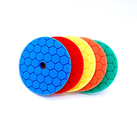 car detailing kit Polisher pads 6 Inch car care detailing car polish pad for 125mm backing plate