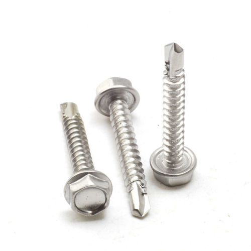 5.9X35MM Hex Socket Cap head silver Zinc self tapping <strong>screws</strong>