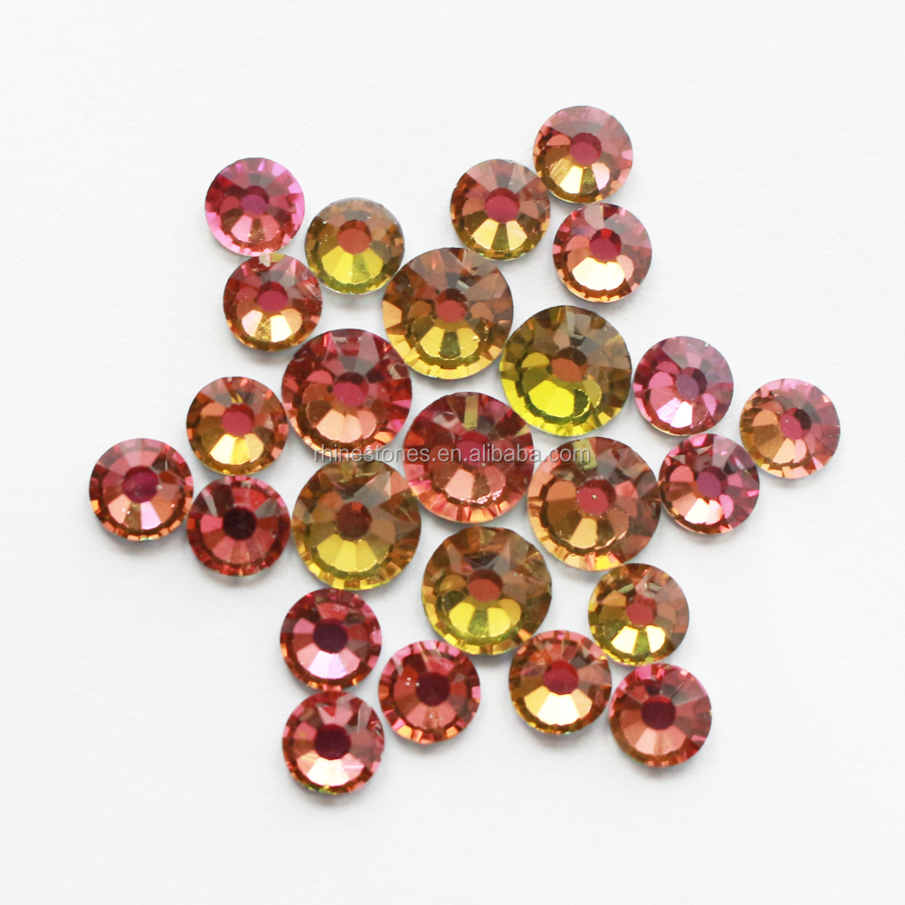 1105N FREE SHIPPING! ONLINE SHOPPING YAX SWAINSTONE Hot Fix Rhinestone Crystals; 40SS-4SS Flat back Hotfix Stone Beads Strass