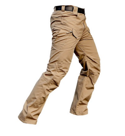 Lightweight Khaki Color Tactical Military Cargo Pants