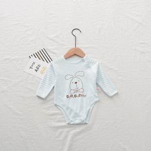 Wholesale Boutique Clothes Organic Cotton Long Sleeve Baby Romper